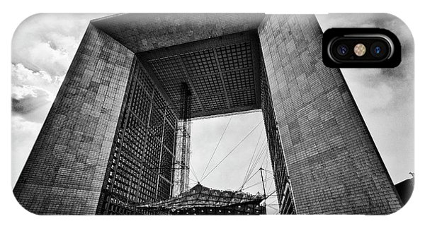 La Grande Arche IPhone Case