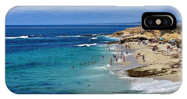 La Jolla Beach IPhone Case