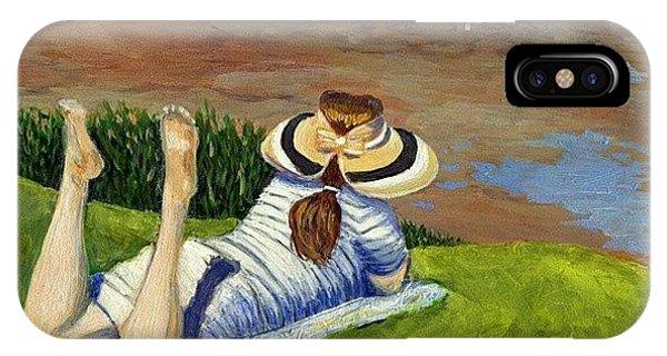 Impressionism iPhone Case - La Jolla by Karyn Robinson