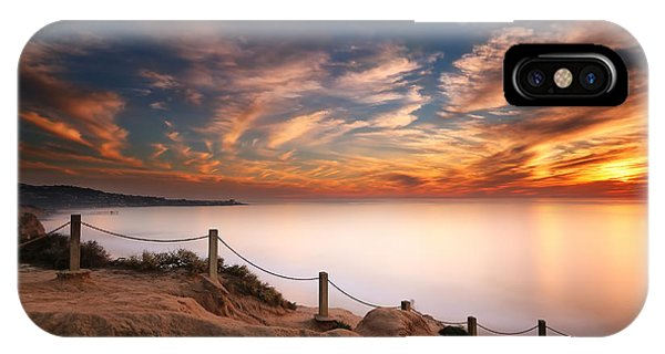 Sun iPhone Case - La Jolla Sunset by Larry Marshall