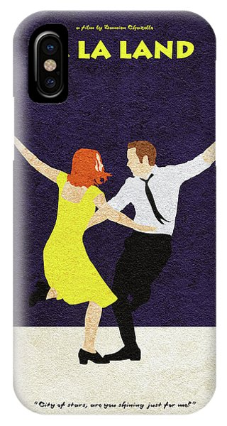 Goslings iPhone Case - La La Land Alternative And Minimalist Poster by Inspirowl Design