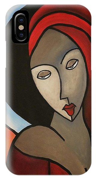 La Madonna IPhone Case