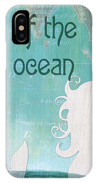 Mythological Creature iPhone Case - La Mer Mermaid 1 by Debbie DeWitt