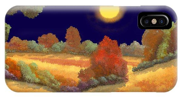 Night iPhone Case - La Musica Della Notte by Guido Borelli