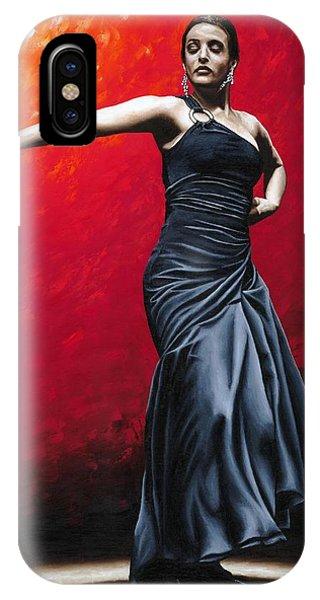 La Nobleza Del Flamenco IPhone Case