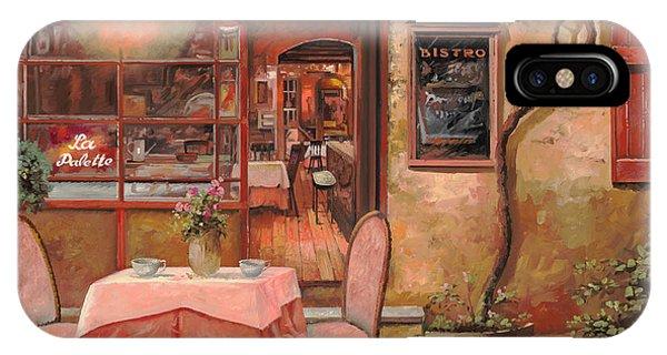 Dinner iPhone Case - La Palette by Guido Borelli