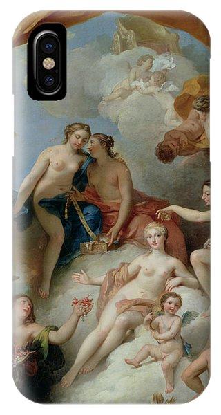 Goddess iPhone Case - La Toilette De Venus by Francois Lemoyne