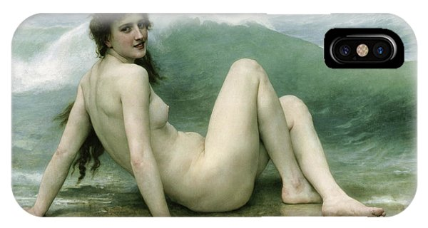 Beautiful iPhone Case - La Vague by William Adolphe Bouguereau