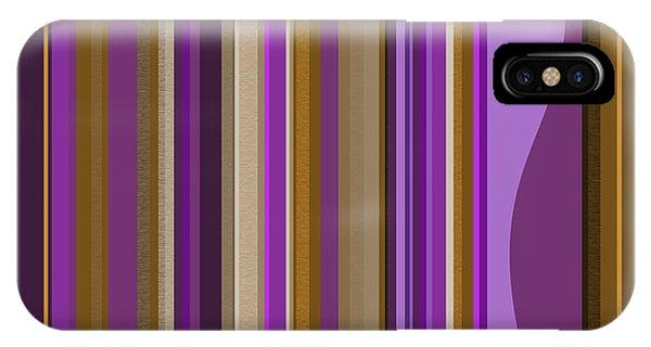 Large Purple Abstract - Two IPhone Case