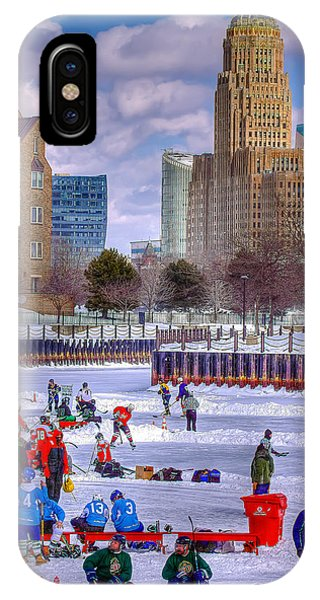 Labatts Pond Hockey IPhone Case