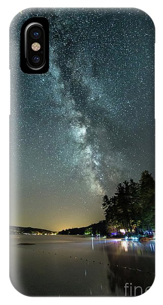 Labor Day Milky Way In Vacationland IPhone Case
