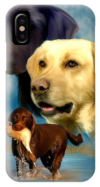 Labrador Retrievers IPhone Case