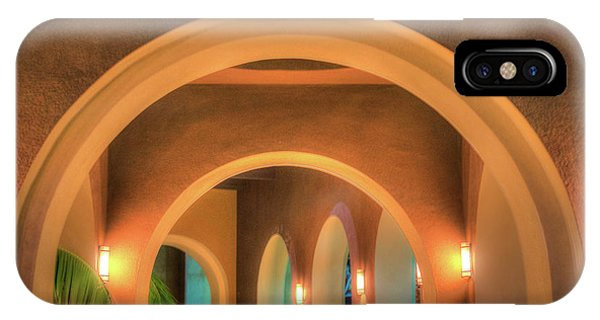 IPhone Case featuring the photograph Labyrinthian Arches by T Brian Jones