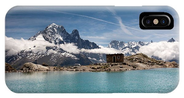 Lac Blanc IPhone Case
