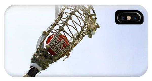 Lacrosse 2 IPhone Case