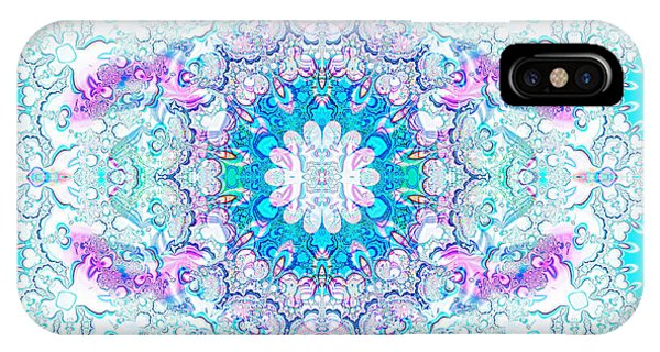 IPhone Case featuring the digital art Lacy Mandala by Bee-Bee Deigner
