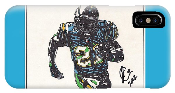 Ladainian Tomlinson 1 IPhone Case