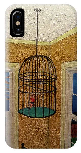 Lady Bird IPhone Case