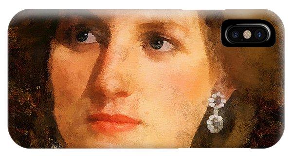 Lady Diana IPhone Case