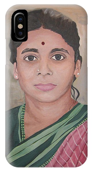 Lady From India IPhone Case