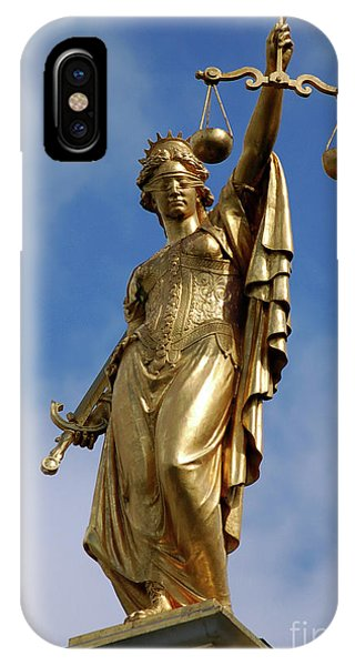 Lady Justice In Bruges IPhone Case