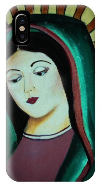 Lady Of Guadalupe IPhone Case