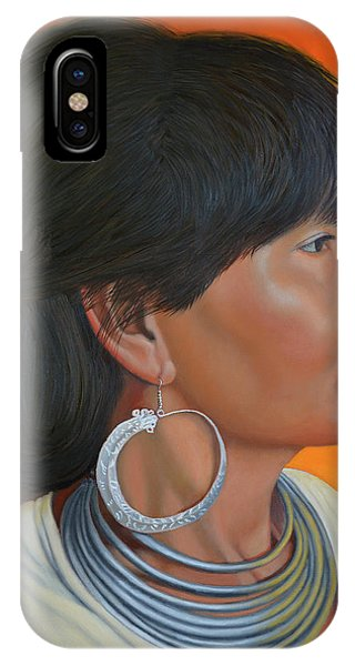 Lady Of Sapa IPhone Case