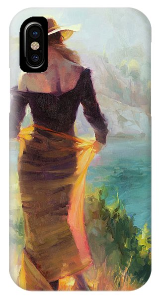 Ice iPhone Case - Lady Of The Lake by Steve Henderson