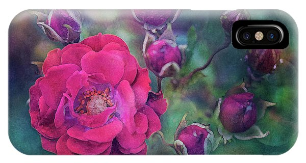Lady Rose IPhone Case