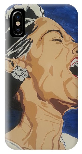 Lady Sings The Blues IPhone Case