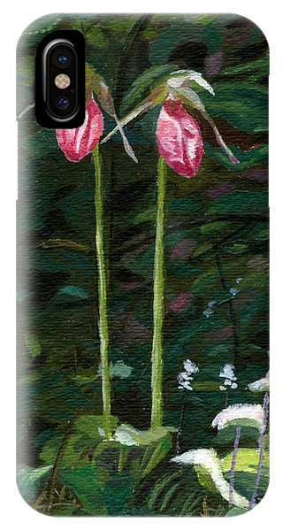 Lady Slipper IPhone Case