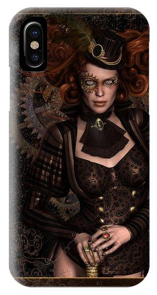 Lady Steampunk IPhone Case
