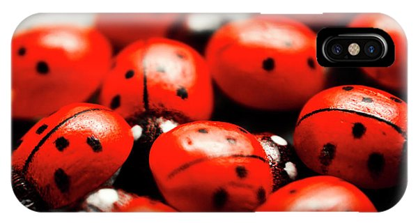 Ladybug iPhone Case - Ladybug Luck by Jorgo Photography - Wall Art Gallery