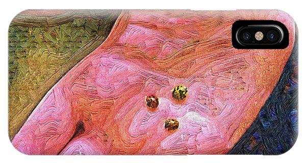 Ladybugs Three IPhone Case