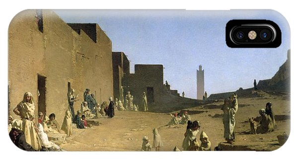Laghouat In The Algerian Sahara IPhone Case