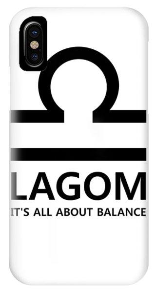 Lagom - Balance IPhone Case