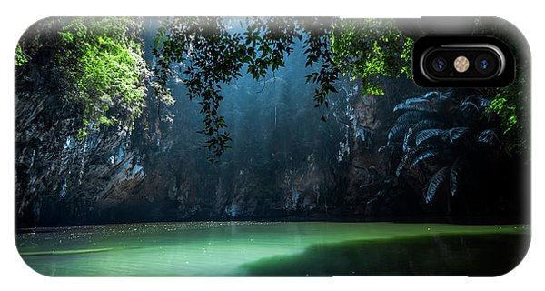 Jungle iPhone Case - Lagoon by Nicklas Gustafsson