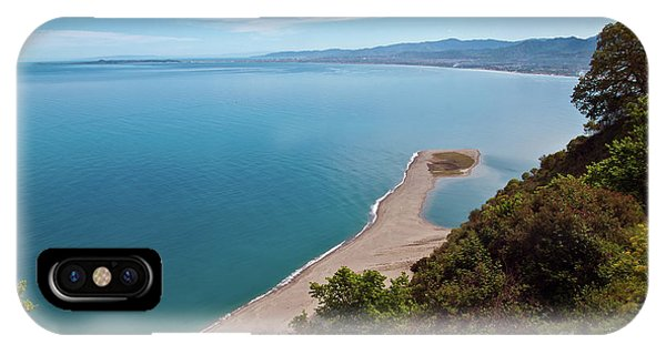 Lagoon Of Tindari On The Isle Of Sicily  IPhone Case