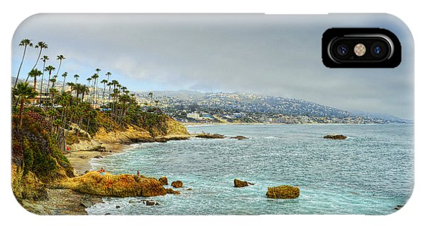 Laguna Beach Coastline IPhone Case