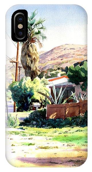 Laguna Canyon Palm Phone Case by John Norman Stewart