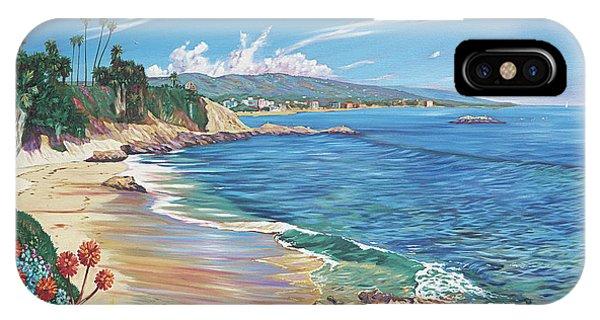Laguna Beach iPhone Case - Laguna Color by Steve Simon