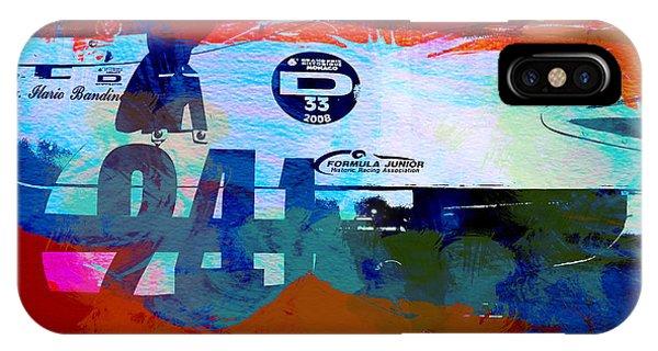 Classic Cars iPhone Case - Laguna Seca Racing Cars 1 by Naxart Studio