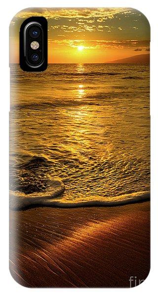 Water Ocean iPhone Case - Lahaina Glow by Jamie Pham