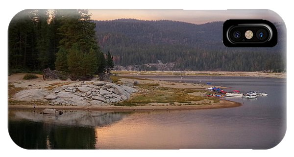 Lake At Twilight IPhone Case