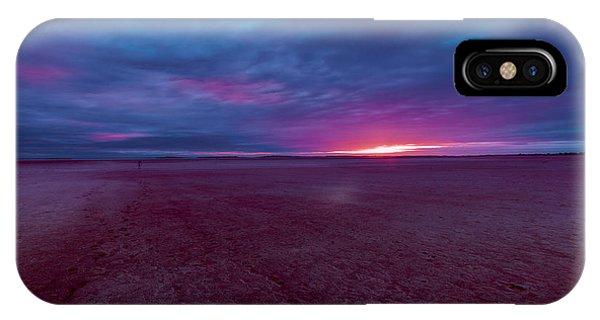 IPhone Case featuring the photograph Lake Ballard At Dawn by Julian Cook