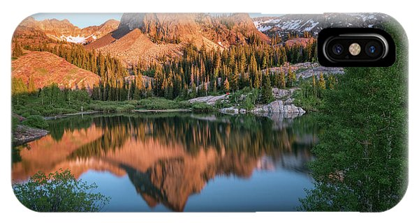 Lake Blanche At Sunset IPhone Case
