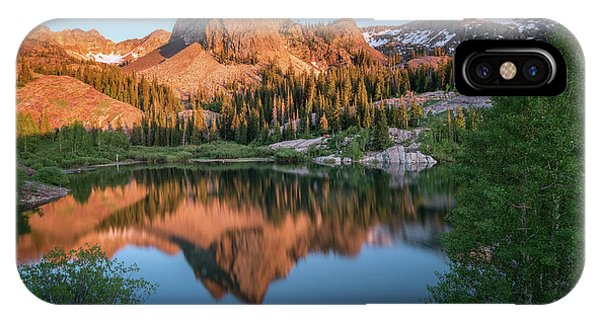 City Sunset iPhone Case - Lake Blanche At Sunset by James Udall