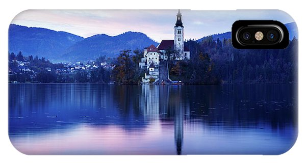 Lake Bled And The Island Church IPhone Case