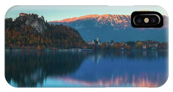 Lake Bled Panorama IPhone Case
