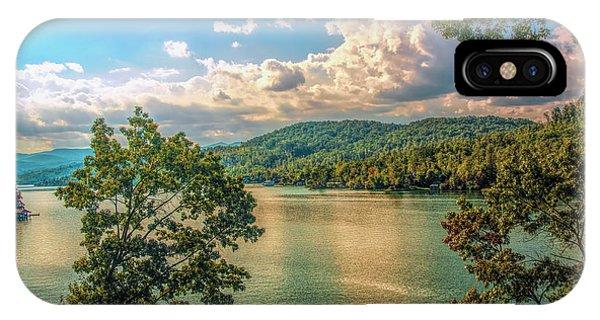 Lake Burton IPhone Case